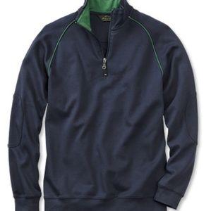 Orvis Men's Quarter Zip Long Sleeve Shirt